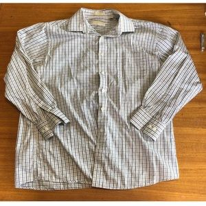 Michael Kors Button Down Dress shirt 16 1/2, 32-33